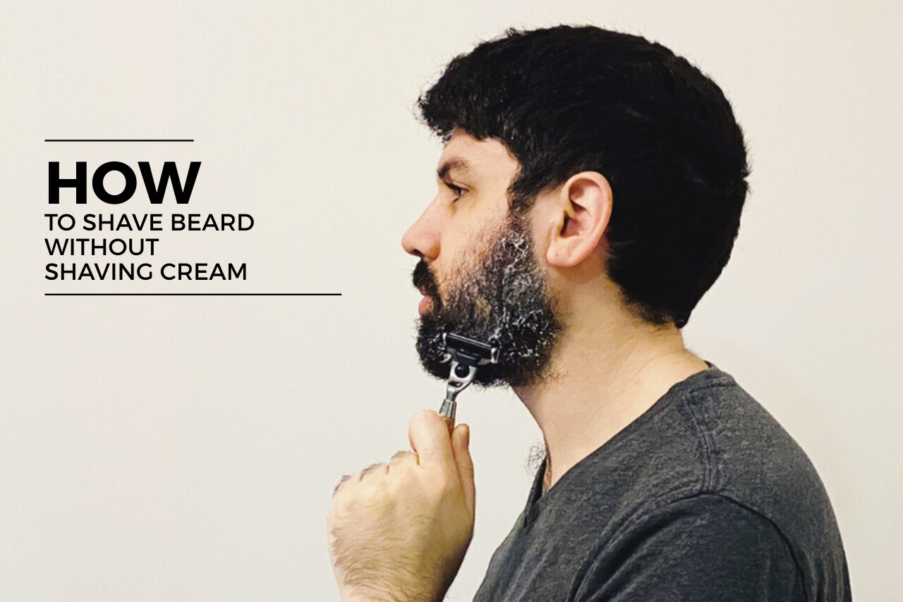 How to shave beard without shaving cream (1)