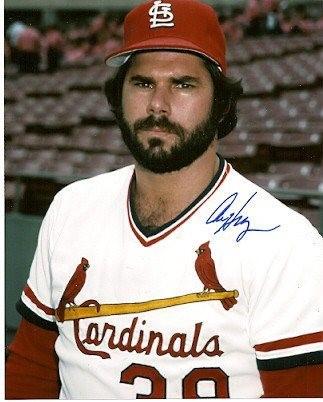Autographed Photo Al Hrabosky Cardinals - Authentic Sig
