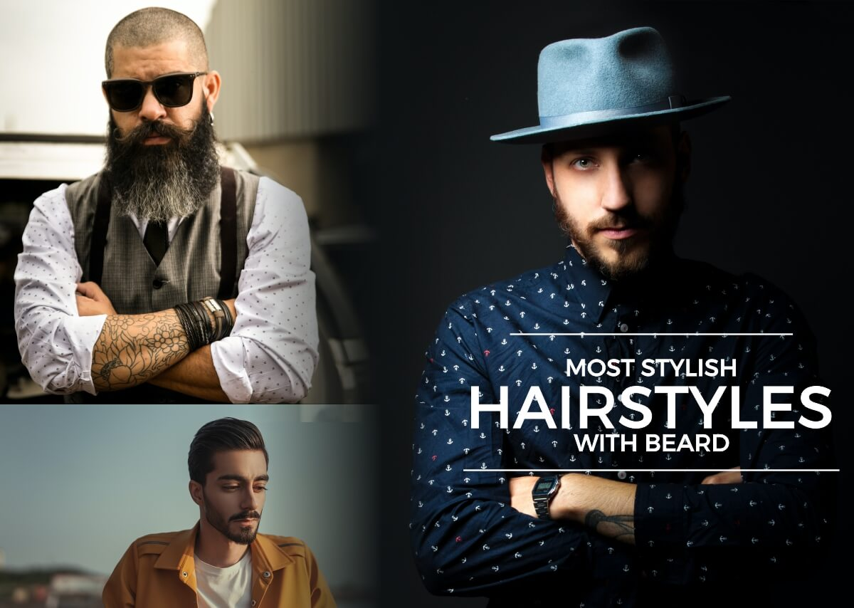 Most Stylish Hairstyles with Beard (1) (1)
