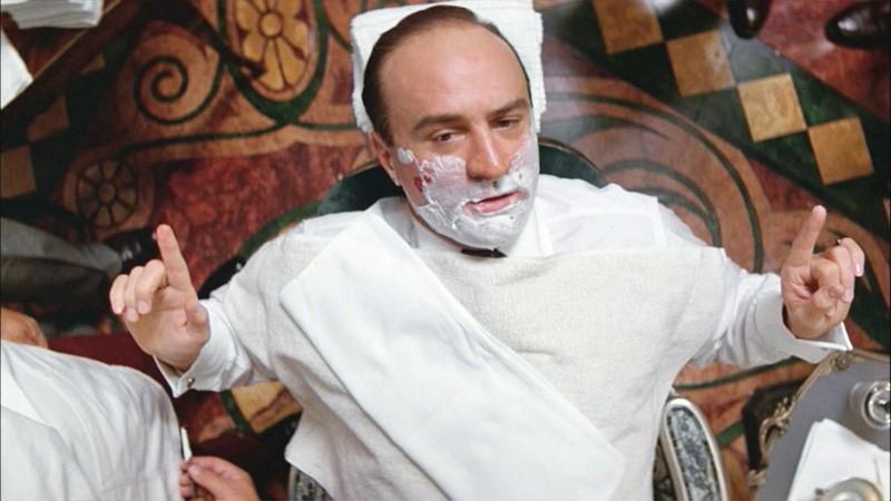 untouchables shaving scene
