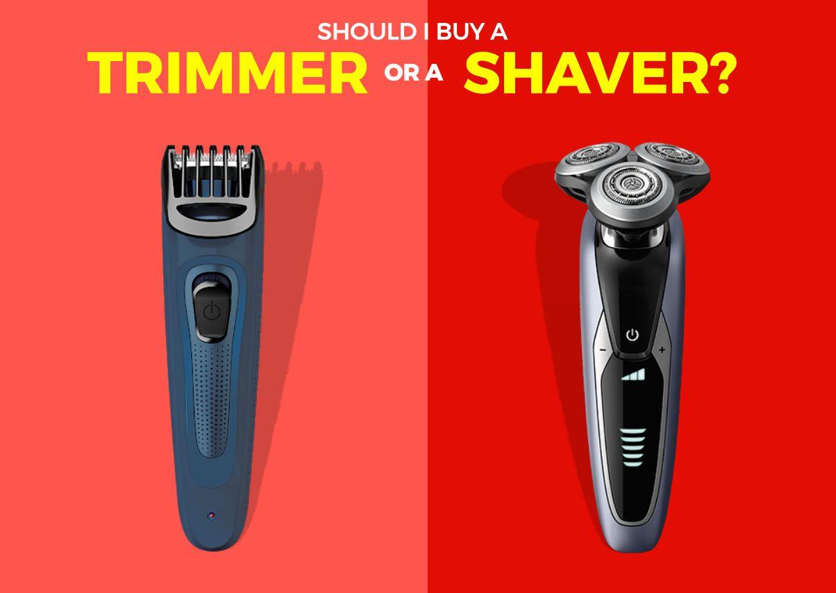 Should I buy a trimmer or a shaver2